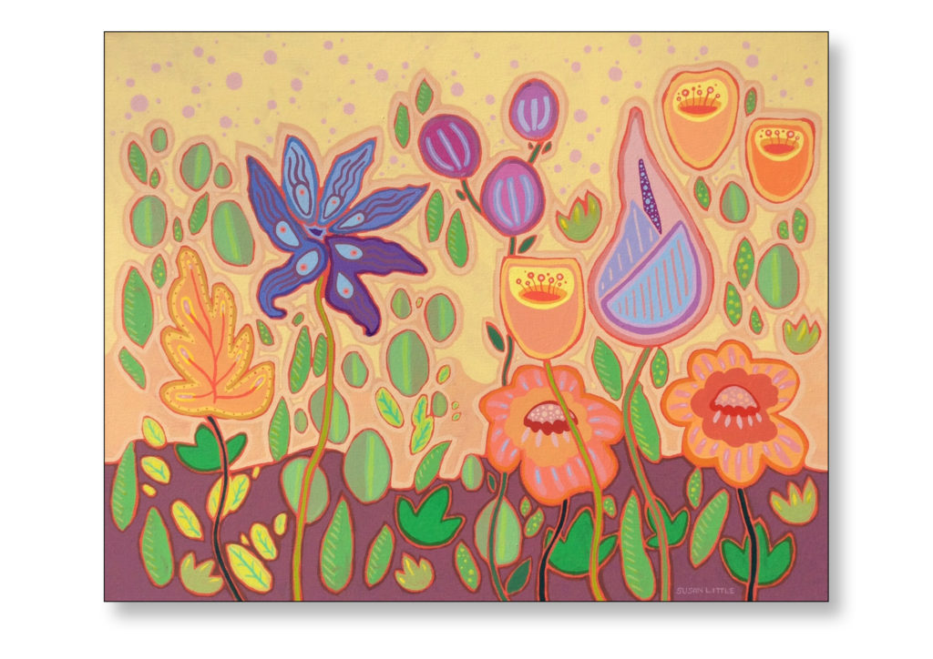 """'Botanical Bliss' $350.00 on gallery wrapped canvas 20""""x16"""""""