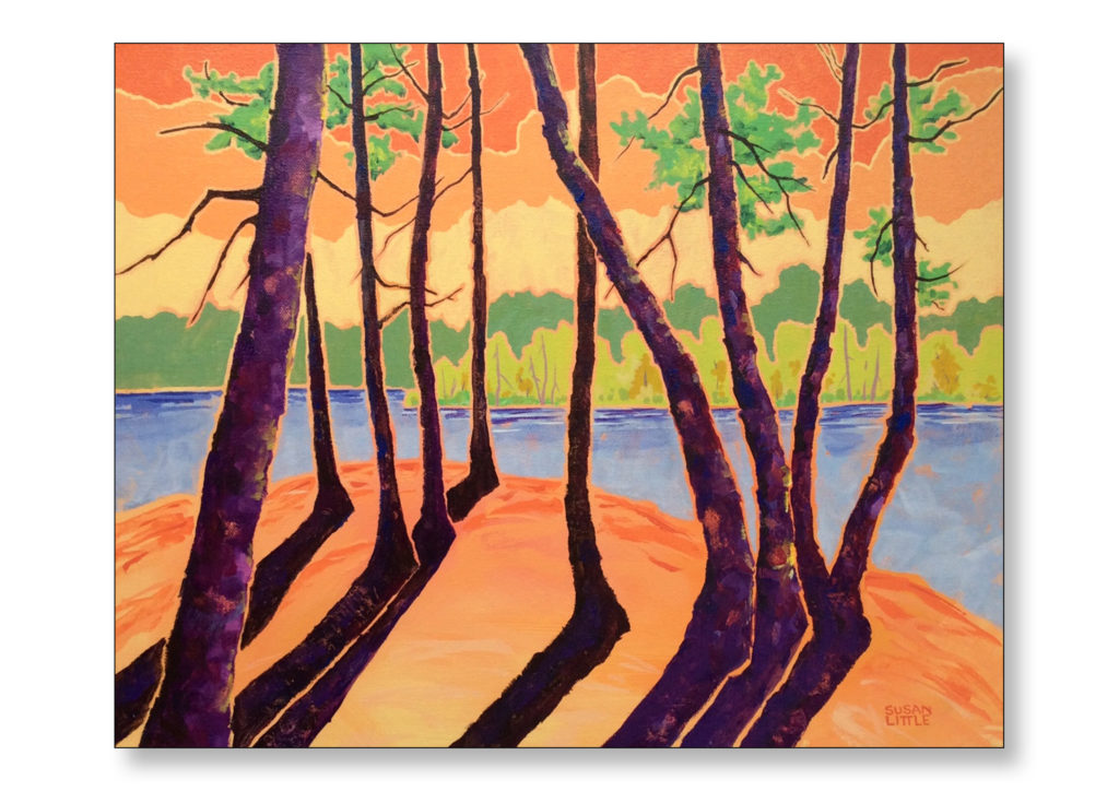 "'Eramosa River, Rockwood On.' $300.00 on gallery wrapped canvas 20""x16"""