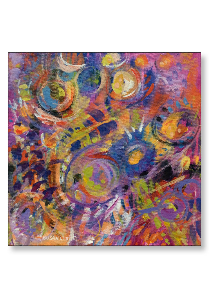 SOLD 'Wild Thing II' $200.00 on gallery wrapped canvas